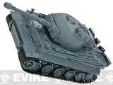 1:26 Scale RC Battle Tank - Tiger (Gun Metal Grey)