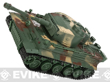 1:26 Scale RC Airsoft Battle Tank (Color: Tiger / Woodland)