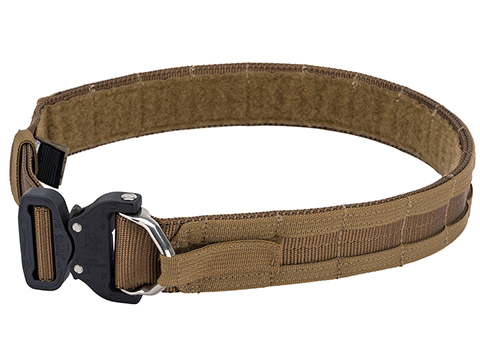 Eagle Industries Operators Gun Belt w/ MOLLE Attachment (Color: Coyote Brown / Medium)