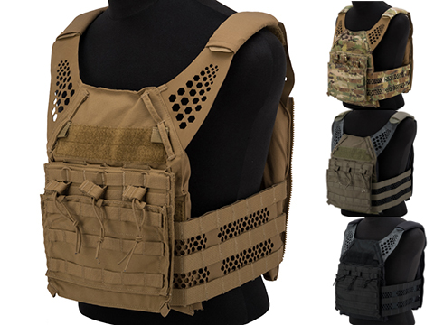 Eagle Industries Tactical Ultra Low-Vis Plate Carrier w/ Removable Front Flap