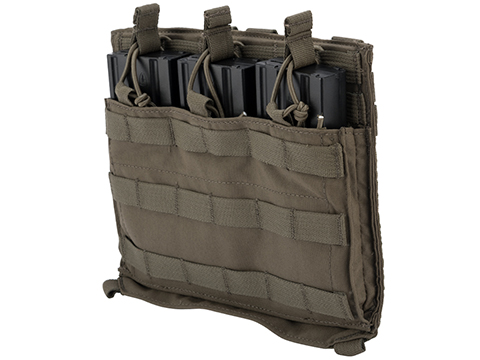 Eagle Industries Removable Front Flap MOLLE Panel w/ Internal Dividers (Color: Ranger Green)