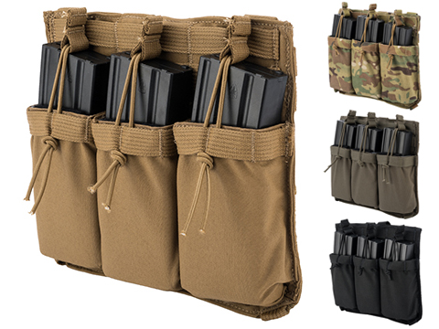 Eagle Industries Removable Front Flap Modular Panel w/ Triple M4 Magazine Pouches