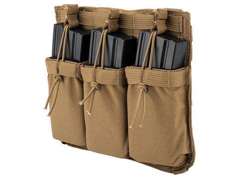 Eagle Industries Removable Front Flap Modular Panel w/ Triple M4 Magazine Pouches (Color: Coyote Brown)