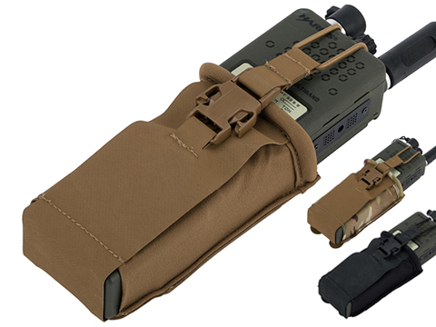 Eagle Industries HTS Style MBITR Radio Pouch with Bungee Retention