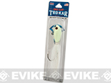 Eagle Claw Trokar Big Nasty Bucktail Jig - Glow in the Dark (Weight: 3 OZ.)