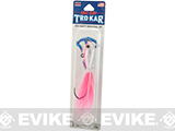 Eagle Claw Trokar Big Nasty Bucktail Jig - Pink (Weight: 3 OZ.)
