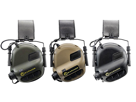 Earmor M31 MOD3 Electronic Hearing Protector (Color: Black)