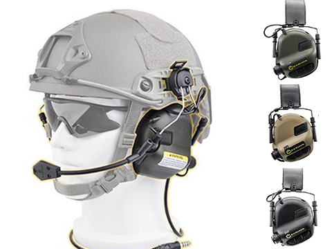 Earmor M32H MOD3 Tactical Communication Hearing Protector for ARC FAST MT Helmets