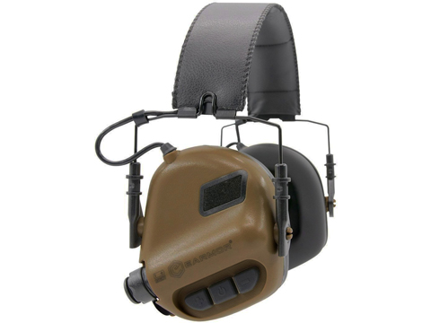 OPSMEN Earmor M31 Electronic Sound Amplifying Hearing Protector (Color: Coyote Brown)