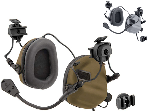 OPSMEN Earmor M32H MOD 3 Electronic Sound Amplifying Hearing Protector for FAST MT Helmets