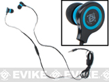 Evike.com EAR-SOFT Mega Bass High Fidelity HeaDphones System (Smart Phone Ready)