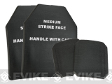 Matrix TMC 4 pcs Replica SAPI Dummy Ballistic Plate Set (Front, Back, & Sides) - Black