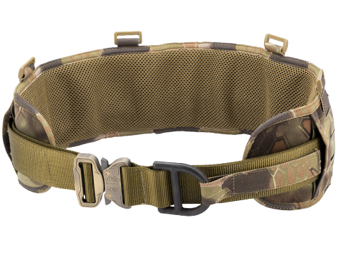 TMC Laser-Cut Padded Battle Belt w/ Rigger's Belt (Color: Kryptek Mandrake / Medium)