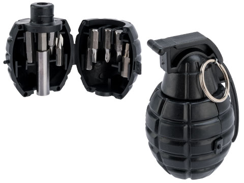 TMC Grenade Screwdriver Set (Color: Black)