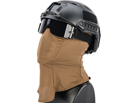 TMC Hot Weather Balaclava w/ Mesh Mouth Protector (Color: Coyote Brown)