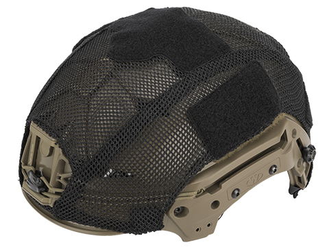 TMC Mesh Style Cover for Bump Style Helmets (Color: Black)
