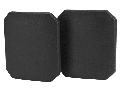 Evike.com Small Side Plates - Set of 2 (Size: Side Plate / Black)