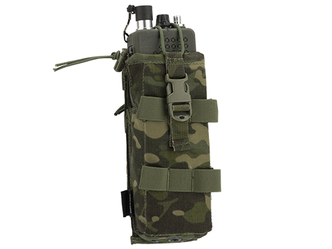 TMC 152 Tilt Out MBTR Radio Pouch (Color: Multicam Tropic)