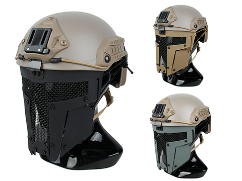 TMC SPT Mesh Face Mask for Bump Helmets