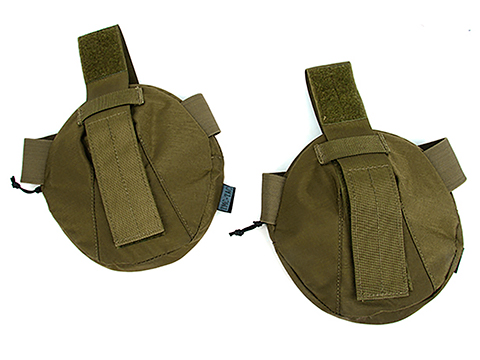 TMC Mock Shoulder Armor for High Speed Style Plate Carriers (Color: Khaki)