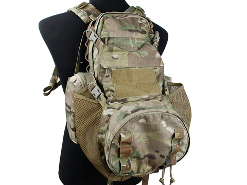 TMC YOTE Tactical Backpack with Helmet Carrier (Color: Multicam)