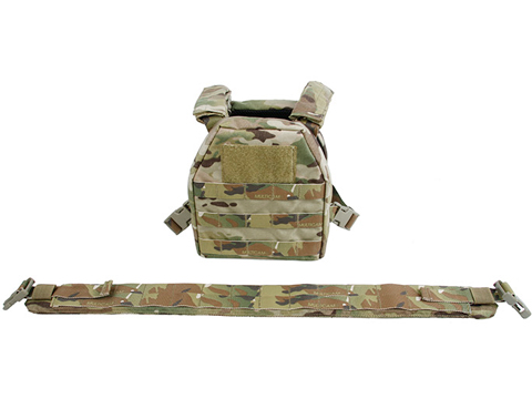 TMC Childrens Tactical Vest with Battle Belt - Multicam (Size: Medium)