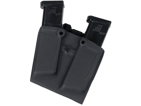 TMC Kydex Mag Pouch for 1911 Style Single Stack Magazines (Capacity: Two Magazines)