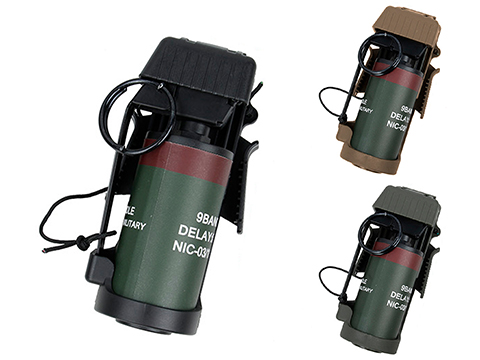 TMC Polymer Flashbang Retention Pouch with Dummy Flashbang