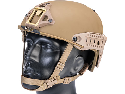 TMC Deluxe Version Air Flow Bump Style Airsoft Helmet (Color: Dark Earth / Large)