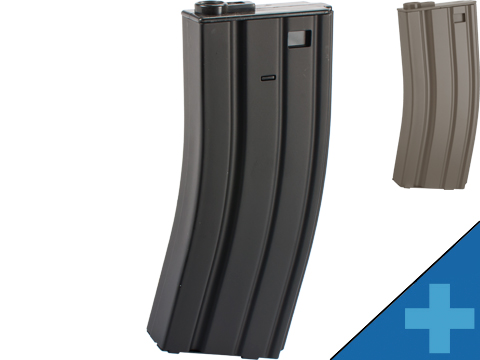 E&C 160rd Metal Mid-Cap Magazine for M4 M16 Series Airsoft AEG Rifles
