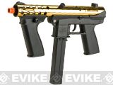 Echo1 General Assault Tool (GAT) Airsoft AEG Sub Machine Gun (Color: Gold)