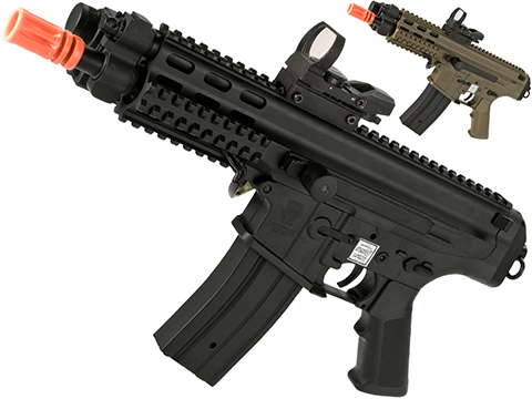 Echo1 Fully Licensed Robinson Armament Polymer XCR-P Airsoft AEG Rifle / AR Pistol