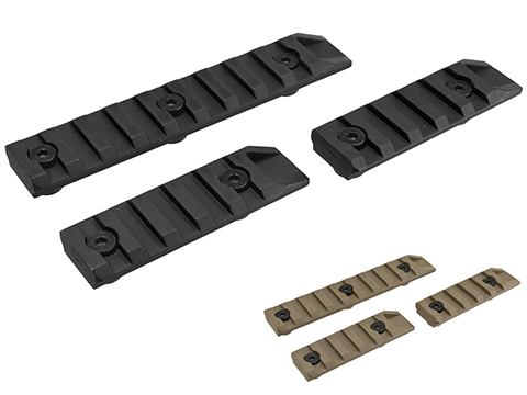 Echo1 Full Metal Airsoft Keymod Rail Segment Set (Color: Black)