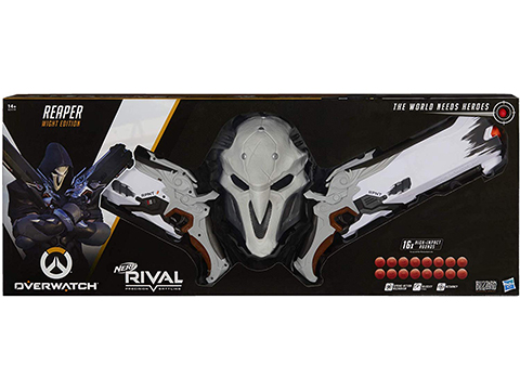 Nerf Rival Overwatch Reaper Hellfire Blaster Collector Pack (Color: Wight Edition)