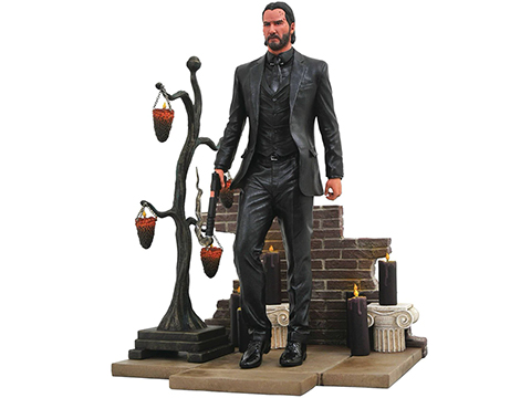 Diamond Select Toys John Wick Gallery Chapter 2 PVC Diorama Figure