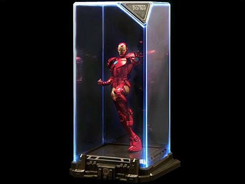Marvel Iron Man Super Hero Illuminate Gallery Statue