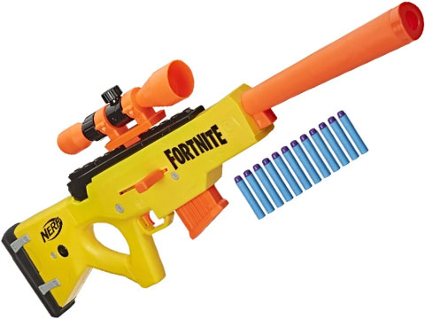 Nerf Fortnite BASR-L Bolt Action Clip Fed Blaster