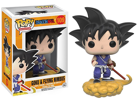Funko POP! Dragon Ball Goku and Nimbus Vinyl Figure