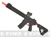 G&G Combat Machine CM16 SRXL Airsoft M4 AEG Rifle with Keymod Rail - 12 Red (Package: Red / Gun Only)