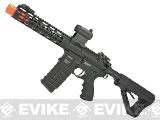 G&G GC16 Wild Hog Full Metal Airsoft AEG Rifle with 9 Keymod Rail - Black (Package: Gun Only)