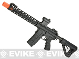 G&G GC16 Wild Hog Polymer Airsoft AEG Rifle with 12 Keymod Rail - Black