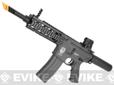 G&G GR16 CQW WASP Airsoft Blowback AEG Rifle - Black
