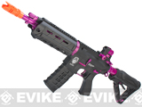 G&G GR4 G26 Airsoft Electric Blowback AEG Rifle - Black / Pink