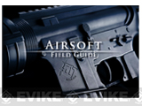 Evike.com Airsoft Player Field Guide Booklet + Poster - Version I