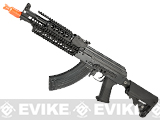 z E&L Airsoft AK-PMC-C A110-C Gen. 2 Full Metal AEG Rifle w/ Railed Hand Guard & Collapsible Stock