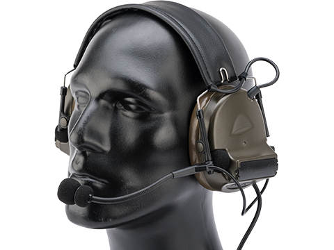 Element ZH041 Military Style Noise Canceling Headset w/ High Gain Microphone
