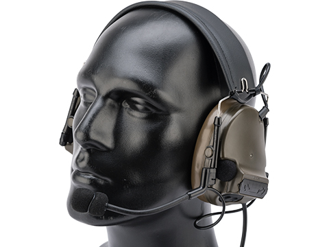 Element ZH051 Military Style Noise Canceling Headset w/ High Gain Microphone