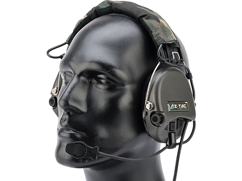 Element ZH111 Military Style Noise Canceling Headset w/ High Gain Microphone