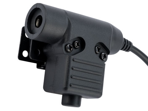 WADSN WU94 Style Tactical PTT with Headset Adapter (Connector: Motorola Talkabout)