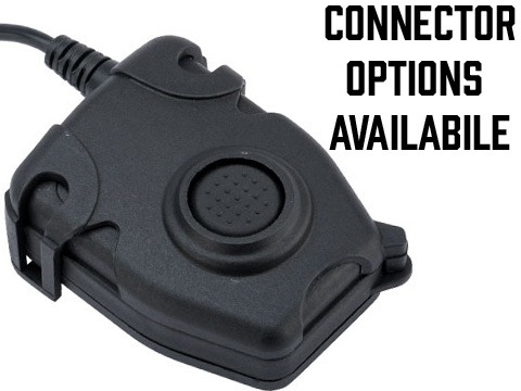 WADSN PR Style Tactical PTT with Headset Adapter